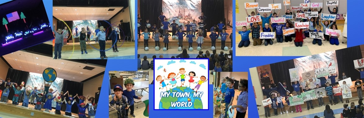 1st Grade Musical: My Town, My World
