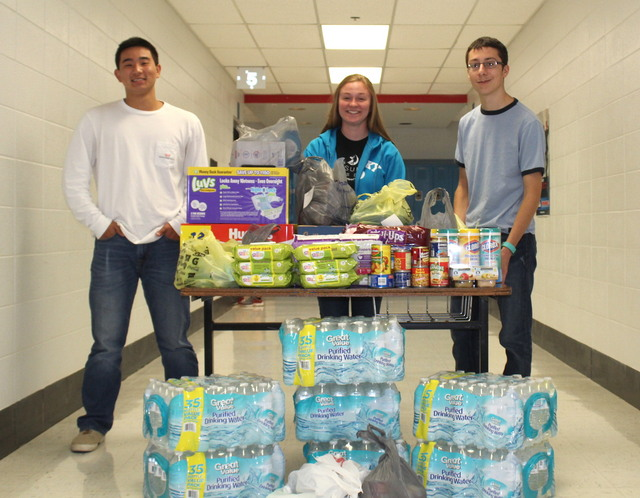 Students Help Harvey Victims