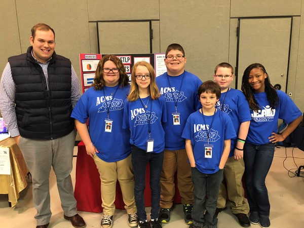 Adair County Middle School students participate in Regional STLP Showcase